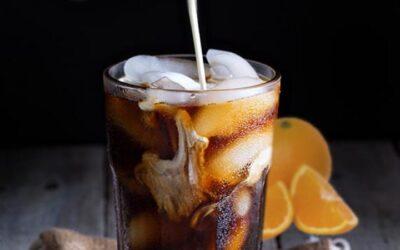Anyone for a Flamed Orange Iced Coffee?