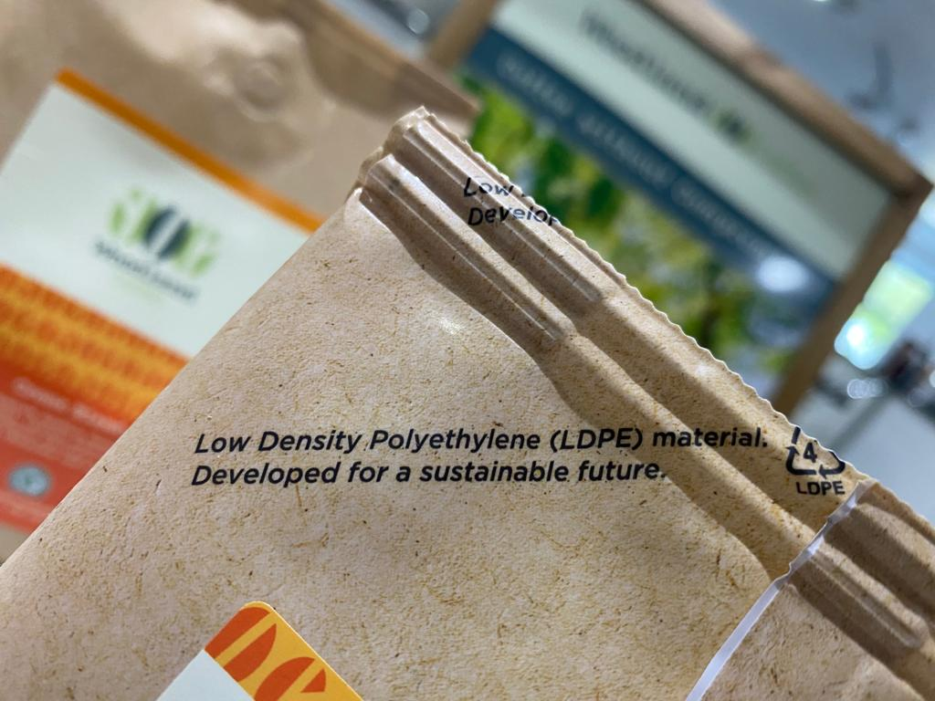 Recyclable Woodland Coffee Bag